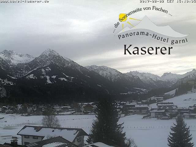 Webcam Fischen im Allgäu mit rubihorn und Oberstdorfer Berge - Oberallgäu kurz vor Oberstdorf